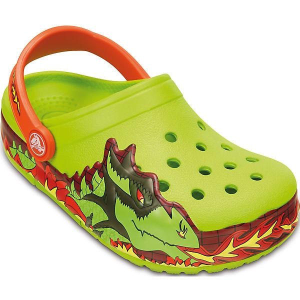 Сабо Kids' CrocsLights Fire Dragon Clog для мальчика Crocs