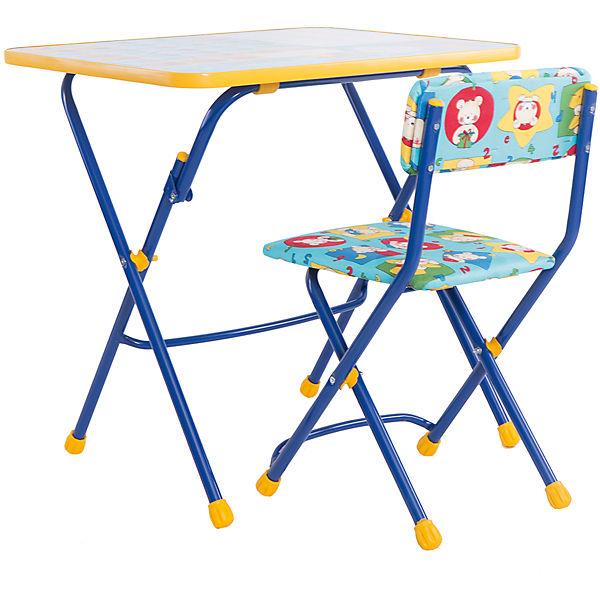 """Набор мебели """"Первоклашка. Осень"""" (синий)"""
