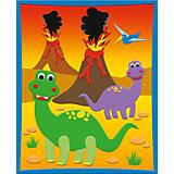 "3D Moosgummi-Bild, ""Dinosaurier"""
