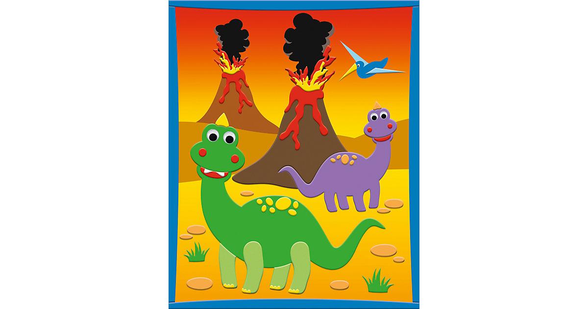 3D Moosgummi-Bild Dinosaurier