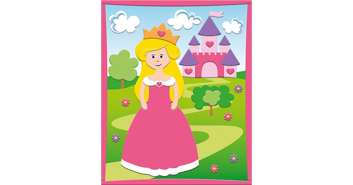 3D Moosgummi-Bild Prinzessin