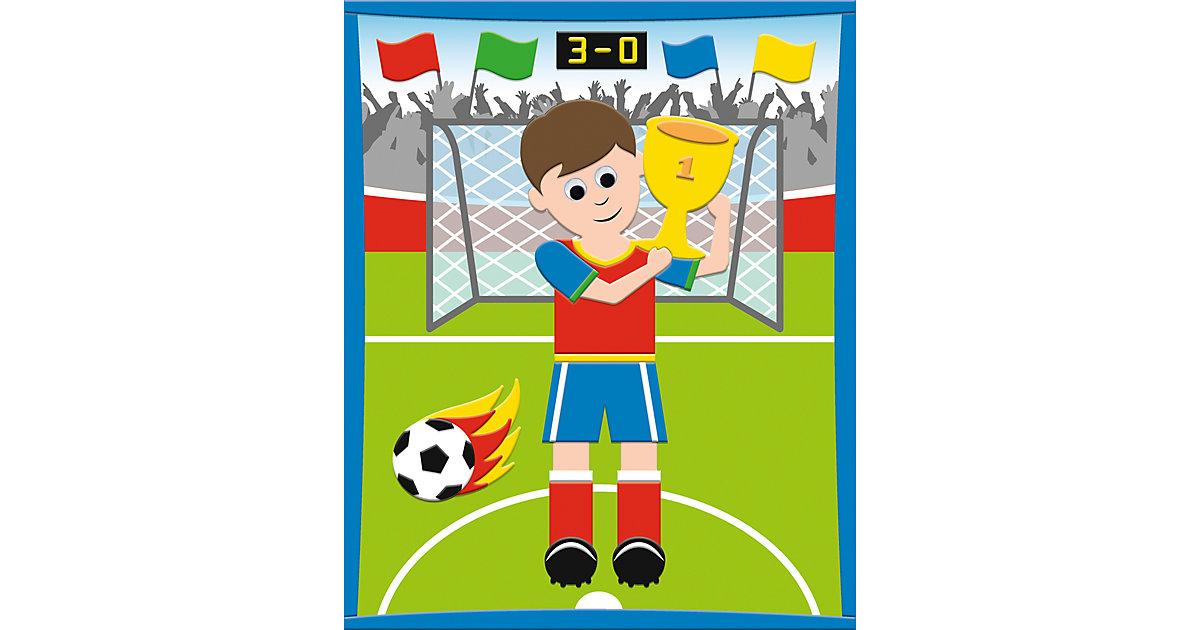 3D Moosgummi-Bild Fußballer