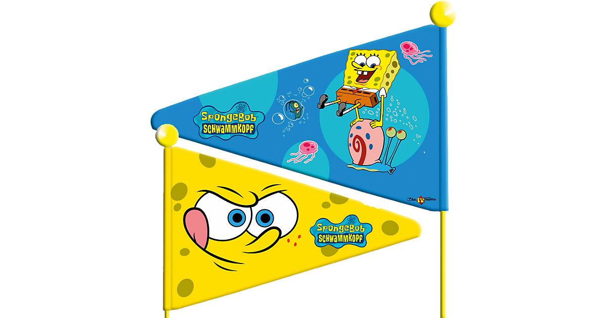 SpongeBob Wimpel, geteilt gelb