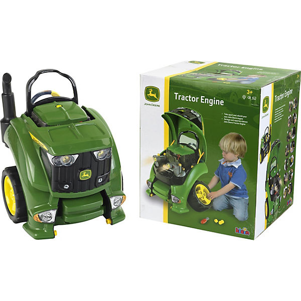 klein john deere traktor motor engine john deere mytoys. Black Bedroom Furniture Sets. Home Design Ideas