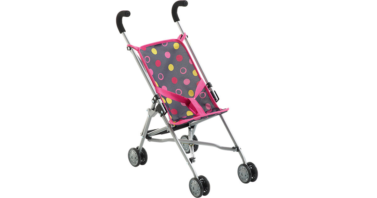 Mini Puppen-Buggy Roma, Funny Pink