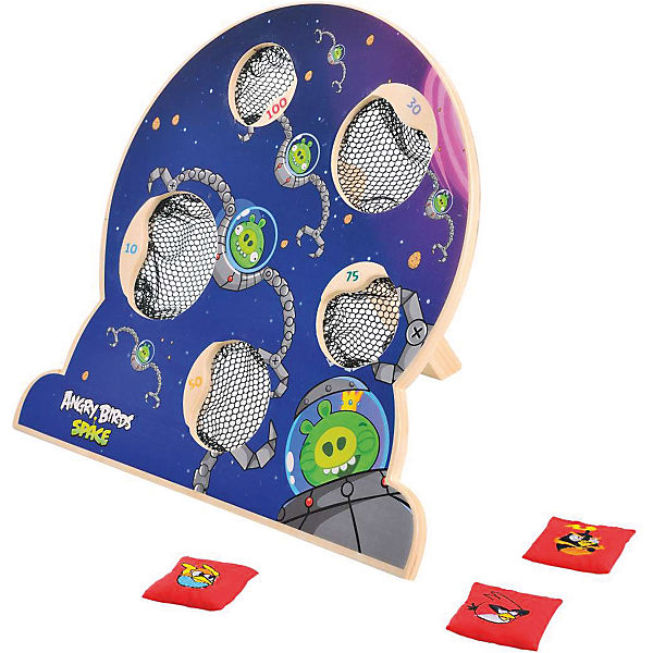 Деревянная игра Angry Birds, 1Toy