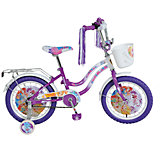 Велосипед Winx, фиолетово-белый, Navigator