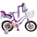 Велосипед, Winx, фиолетово-белый, Navigator