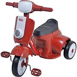 Велосипед трехколесный, красный, 1Toy