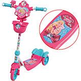 Самокат трехколесный Barbie, 1Toy