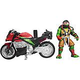 Мотоцикл с фигуркой Рафа, Черепашки Ниндзя