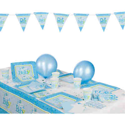 Partyset Welcome Little One Boy 53-tlg.