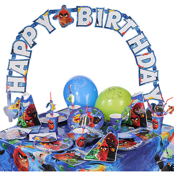 Partyset Angry Birds Movie, 68-tlg.