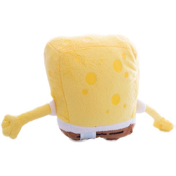 """Мягкая игрушка """"Губка Боб"""", 14 см, со звуком, МУЛЬТИ-ПУЛЬТИ"""