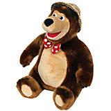 """Мягкая игрушка  """"Мишка в шляпе"""", 48 см, со звуком, Маша и Медведь, МУЛЬТИ-ПУЛЬТИ"""