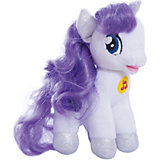 "Мягкая игрушка ""Пони Рарити"", 18 см, со звуком, My little Pony, МУЛЬТИ-ПУЛЬТИ"
