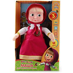 """Мягкая игрушка """"Маша танцует"""", 30 см, со звуком, Маша и Медведь, МУЛЬТИ-ПУЛЬТИ"""