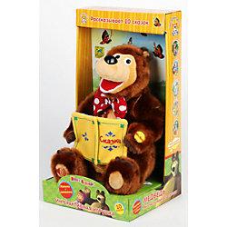"""Мягкая игрушка """"Мишка"""", 30 см, со звуком, Маша и Медведь, МУЛЬТИ-ПУЛЬТИ"""
