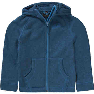 Kinder Strickfleecejacke CARIBOU LODGE