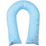 "Подушка для беременных ""Гранда"" 360х38 (сатин), La Armada, голубой"
