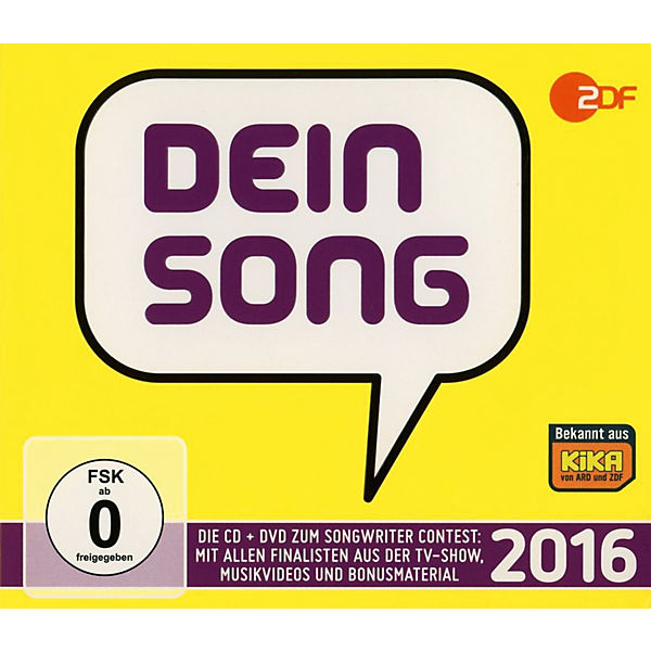 CD Dein Song 2016