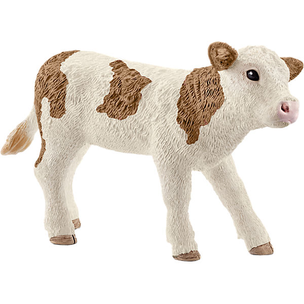 Schleich 13802 Farm World: Fleckvieh-Kalb