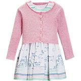 Baby Set Strickjacke+Kleid für Mädchen
