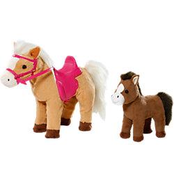 Лошадка с жеребенком, BABY born