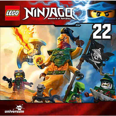 CD LEGO Ninjago - Masters of Spinjitzu 22