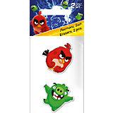 Набор ластиков, 2 шт., Angry Birds