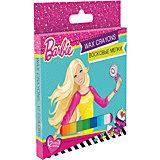 Восковые мелки, 12 цветов, Barbie