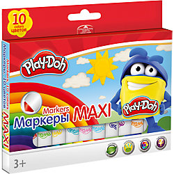 Набор фломастеров 10 шт., Play-Doh