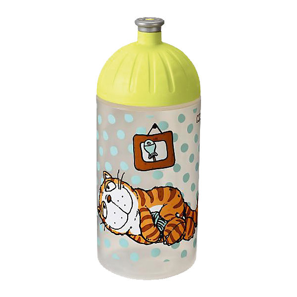 NICI Trinkflasche Comic Cats, 500ml