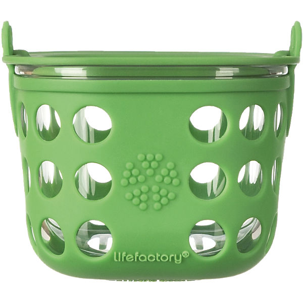 Lifefactory Lunchbox Glas grass green, 475 ml