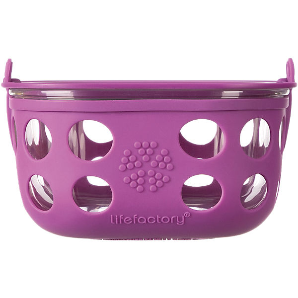 Lifefactory Lunchbox Glas huckleberry, 950 ml