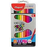 Набор цветных карандашей COLORPEPS, 12 цв.