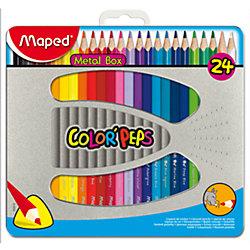 Набор цветных карандашей COLORPEPS, 24 цв.