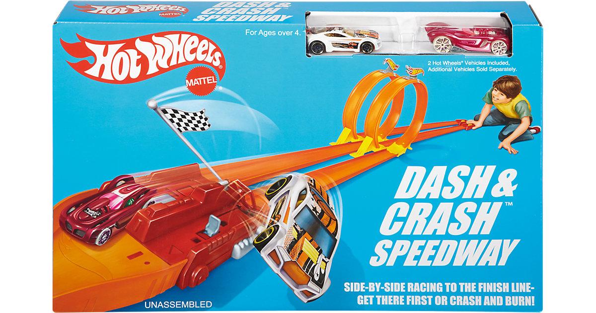 Hot Wheels Crash Rennstrecke Track Set exklusiv