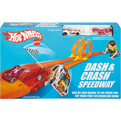 Hot Wheels Crash Rennstrecke Track Set exklusiv