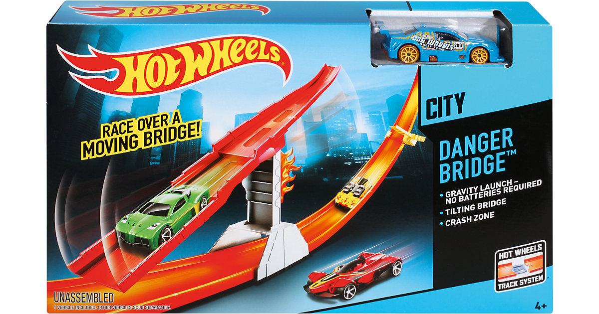 Hot Wheels gefährliche Brücke Track Set