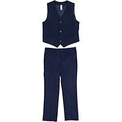 Комплект: жилет и брюки для мальчика S'cool