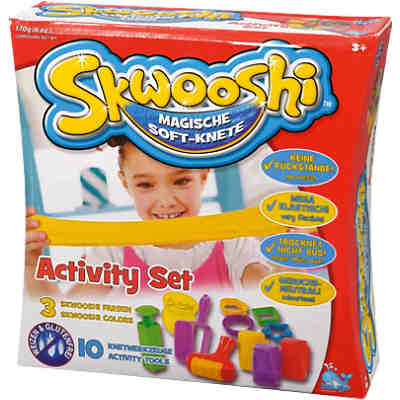 Skwooshi Soft-Knete Activity Set