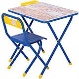 """Набор детской складной мебели """"Веселые гномы"""", Дэми, синий"""