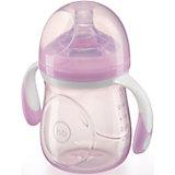 Бутылочка для кормления с антиколиковой соской, 180 мл, Happy Baby, фиолетовый
