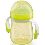 Бутылочка для кормления с антиколиковой соской, 180 мл, Happy Baby, лайм