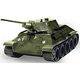 """Сборная модель """"Танк Т-34 обр. 1941 г. (зеленый)"""""""