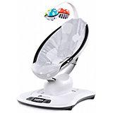 Кресло-качалка Mamaroo 3.0, 4Moms, серый плюш