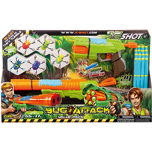 Zuru X-Shot Bug Attack - Rapid & Eliminator