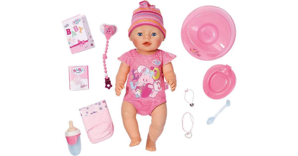 BABY born® Interactive Girl, 43 cm