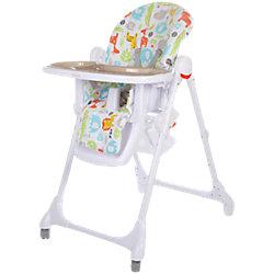 Стульчик для кормления Fiesta, Baby Care, серый
